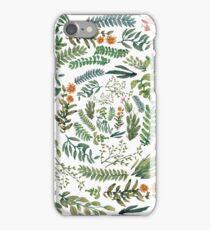 white expiral garden iPhone Case/Skin
