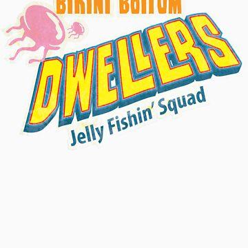Bikini Bottom has a Jellyfish Squad by morlock