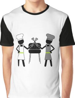 Dueling Spatulas Graphic T-Shirt