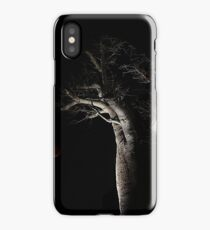 The Blood Moon And The Boab Tree iPhone Case