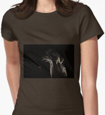 The Blood Moon And The Boab Tree Womens Fitted T-Shirt