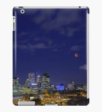Lunar Eclipse - Perth Western Australia  iPad Case/Skin