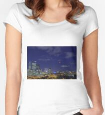 Lunar Eclipse - Perth Western Australia  Women's Fitted Scoop T-Shirt
