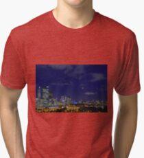 Lunar Eclipse - Perth Western Australia  Tri-blend T-Shirt
