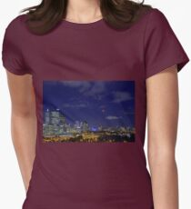 Lunar Eclipse - Perth Western Australia  Womens Fitted T-Shirt