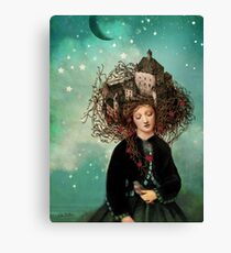 Sleeping beauty's dream Canvas Print