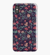 Ethnic indian floral ornament iPhone Case/Skin
