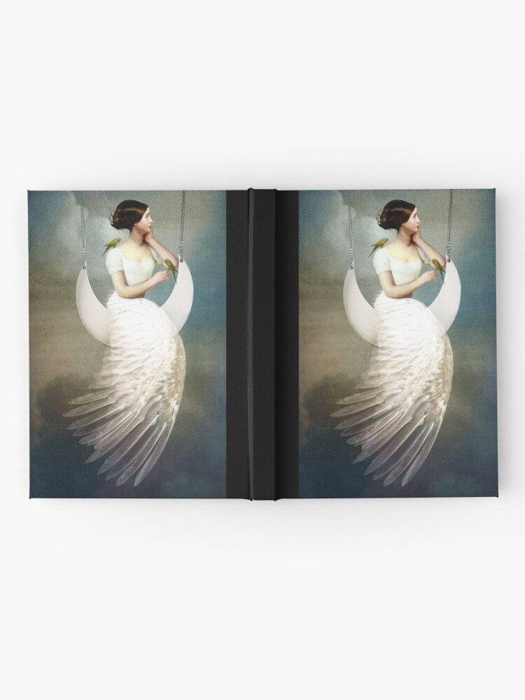 Alternate view of To the moon and back Hardcover Journal