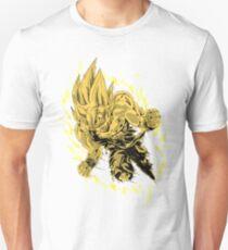 Goku (Super Saiyan) [White] Unisex T-Shirt