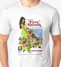 Foxy Brown (Blue) Unisex T-Shirt