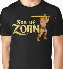 Son of Zorn Fan Art Print Design Distressed on Black Graphic T-Shirt