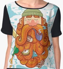 Sailor Women's Chiffon Top