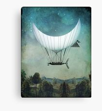 The Moon Ship Canvas Print