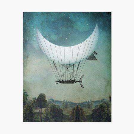 The Moon Ship Galeriedruck