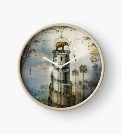 Where Keys hang on Trees Clock