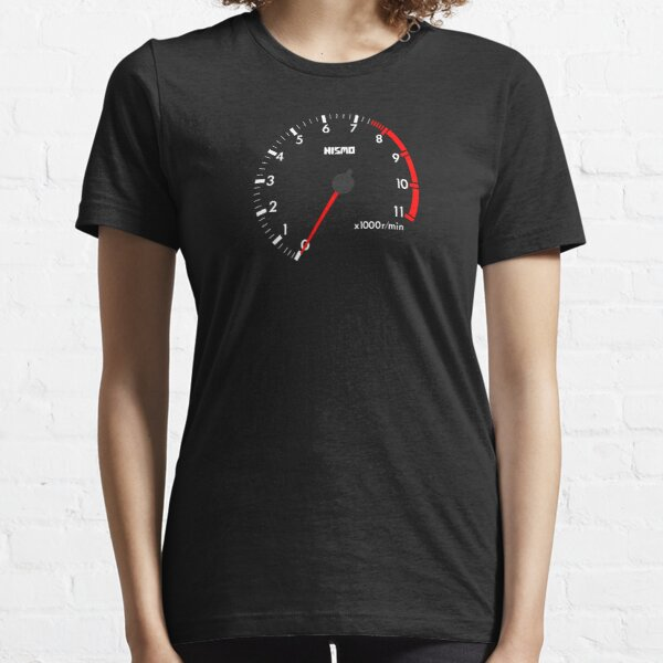 NISSAN スカイライン (NISSAN Skyline) R32 NISMO rev counter [black version] Essential T-Shirt
