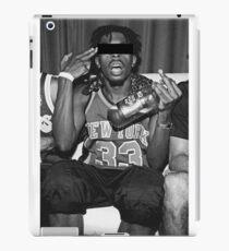 Verrückter Junge iPad-Hülle & Klebefolie