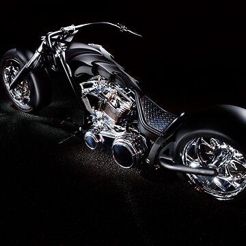 Harley-Davidson Custom Chopper by FrankKletschkus