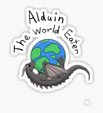 Baby Alduin Sticker