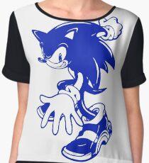Sonic the Hedgehog [Blue] Chiffon Top