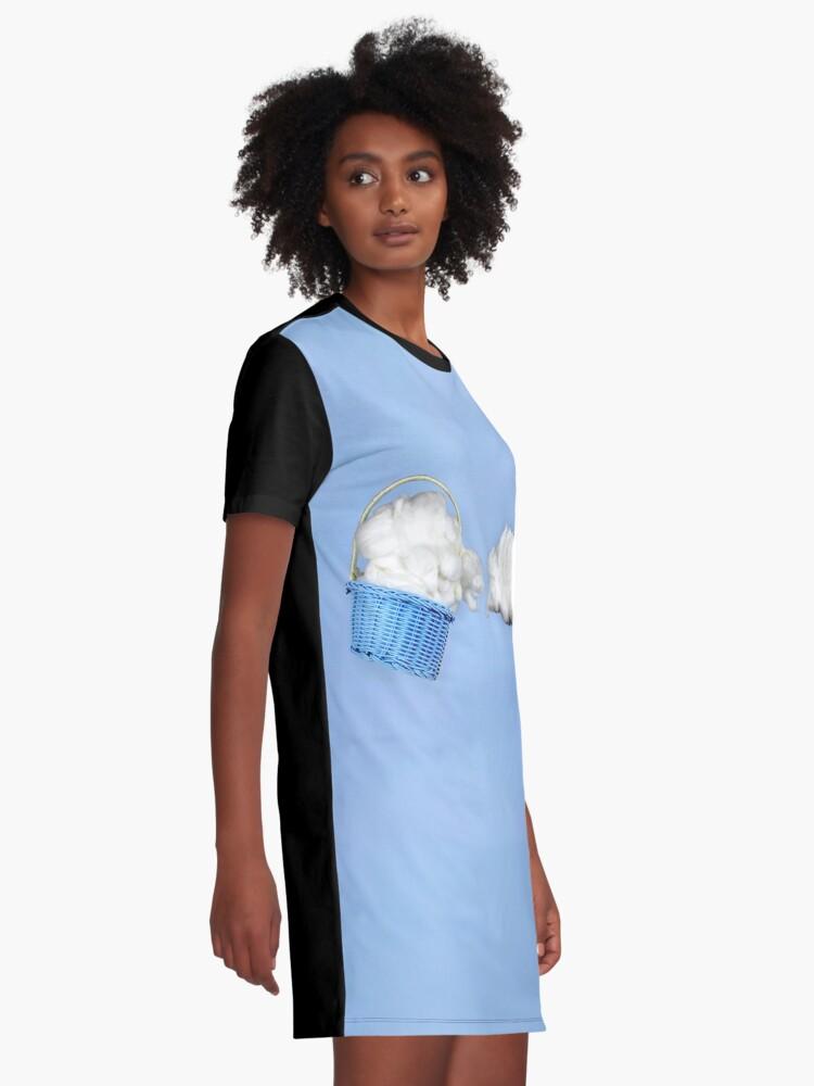 Alternative Ansicht von Der Wolkenharvester T-Shirt Kleid