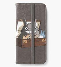 Totoro in Fantastic Suitcase iPhone Wallet