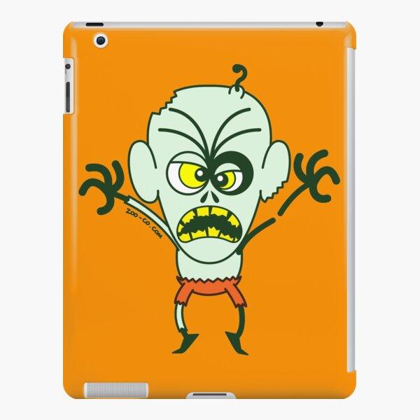 Scary Halloween Zombie Emoticon iPad Snap Case