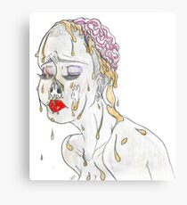 Faux Beauty Canvas Print