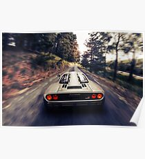 McLaren F1 Road Car Driving Poster