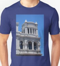 Blue and White Architecture T-Shirt