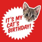 It's My Cat's Birthday! by regalclothing
