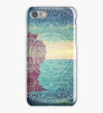 Lanscape mandala iPhone Case/Skin