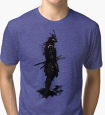 Armored Samurai Tri-blend T-Shirt