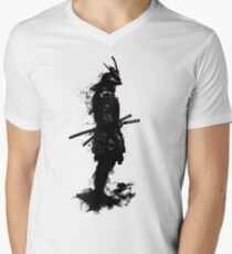 Armored Samurai Men's V-Neck T-Shirt