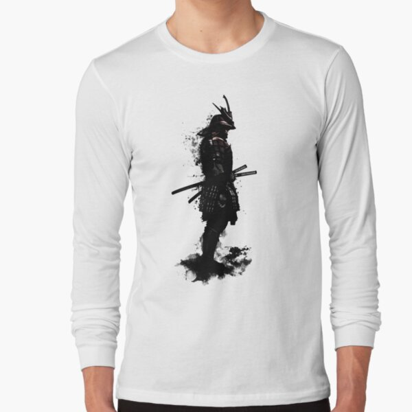 Armored Samurai Long Sleeve T-Shirt