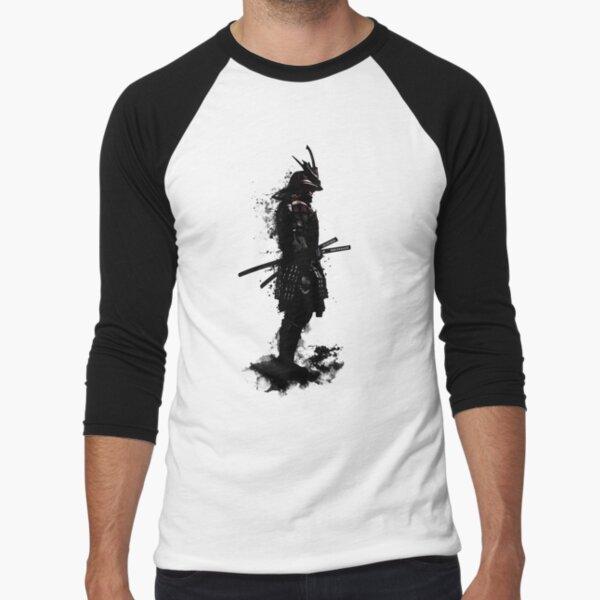 Armored Samurai Baseball ¾ Sleeve T-Shirt