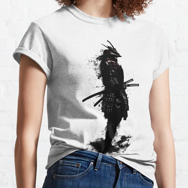 Samurai blindado Camiseta clásica