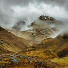 Obscured by Clouds, Stormy Mountains by Mark Greenwood