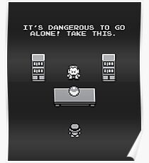 It's dangerous to go alone! Poster