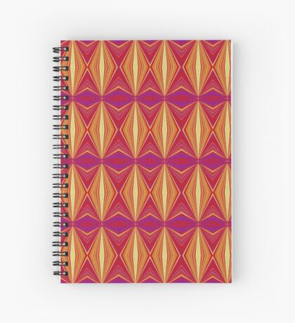 Textured Pages Of My Life  Spiral Notebook