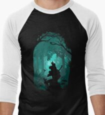 Zelda - Ocarina in the Woods Men's Baseball ¾ T-Shirt