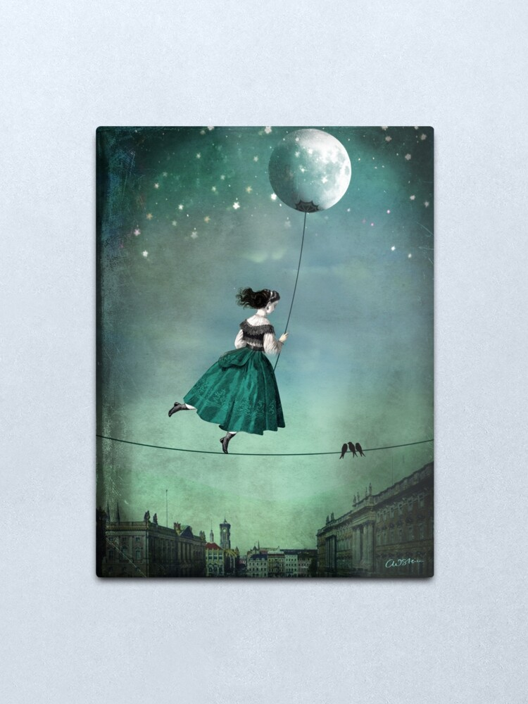 Alternate view of Moonwalk Metal Print