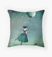 Moonwalk Throw Pillow