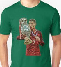Ronaldo - Paint Design T-Shirt