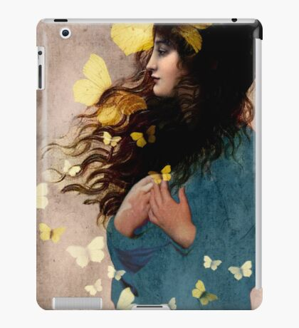 Bye bye butterfly iPad Case/Skin