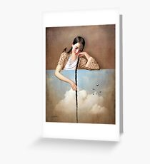 Touch The Sky (Rapunzel) Greeting Card
