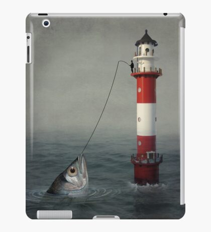 The Big Catch iPad Case/Skin