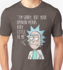 rick opinion Unisex T-Shirt