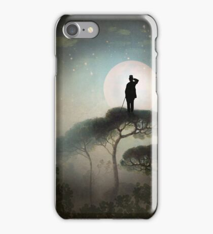 The Man in the Moon iPhone Case/Skin