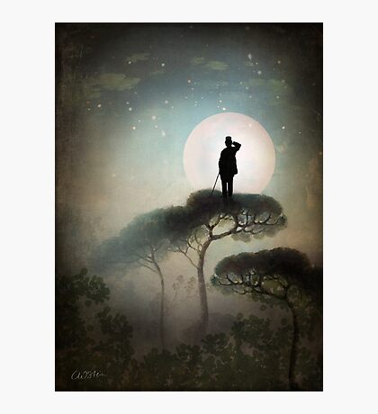 The Man in the Moon Photographic Print